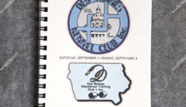 Des Moines Kennel Club, Inc. & Combined Specialty Clubs of Greater Des Moines September 06, 07, 08, 2019