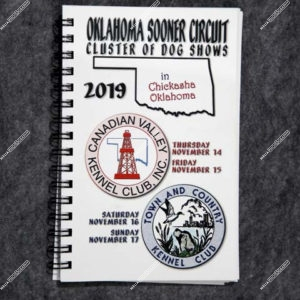 Oklahoma Sooner Circuit Cluster of Dog Shows November 14,15,16 & 17, 2019