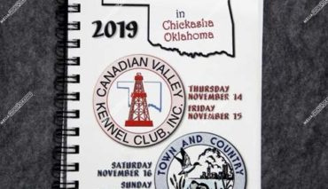 Oklahoma Sooner Circuit Cluster of Dog Shows November 14,15,16 & 17, 2019