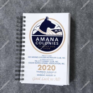 Amana Colonies Cluster Dog Shows August 27,28,29,30 & 31, 2020