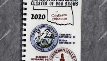 Oklahoma Sooner Circuit Cluster of Dog Shows November 12 thru 15, 2020