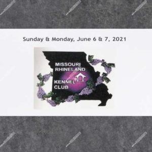 Missouri Rhineland Kennel Club 06-07-21 Monday