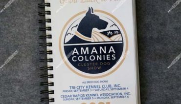 Amana Colonies Cluster Dog Show September 02,03,04,05 & 06-2021