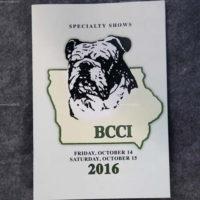 Bulldog Club of Central Iowa 10-14-16 Friday