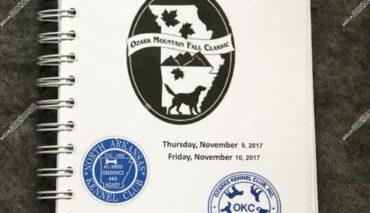 Ozark Mountain Fall Classic November 09 thru 12, 2017